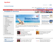 Website von ESSO Deutschland GmbH