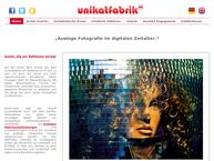 Website von Unikatfabrik