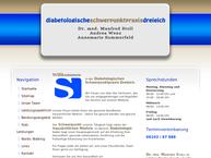 Website von Blache-Reichenmiller, Gertrud