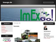 Website von ImExGo - Import Export und Dienstleistungen Gossen