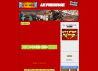 Website von Discothek Le Prestige