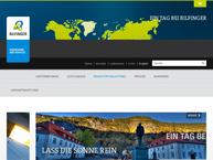 Website von Bilfinger + Berger Bauaktiengesellschaft