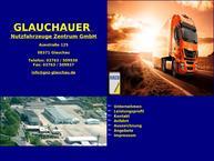 Website von Glauchauer Nutzfahrzeuge Zentrum GmbH