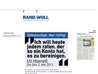 Website von Rand Steuerberater
