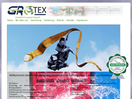 Website von GROTEX Recycling GmbH