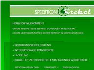 Website von Krekel LagerLogistik