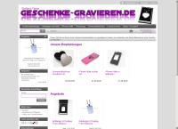 Website von Geschenke-Gravieren.de