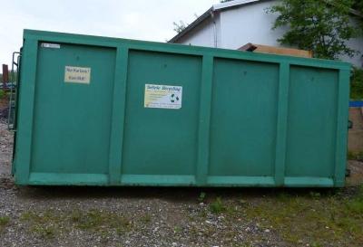 settele recycling containerdienst baggerarbeiten erdbauunternehmen in markt wald ffnungszeiten. Black Bedroom Furniture Sets. Home Design Ideas