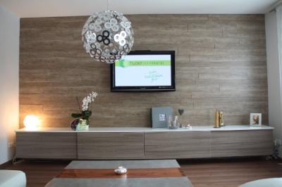 Moderne Wohnwand Im Wohnzimmer