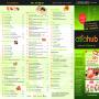 AsiaHub GmbH - Speisekarte für Fischmarkt
