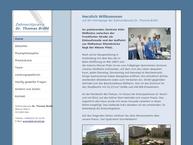 Website von Bröhl Thomas Dr. Zahnarzt