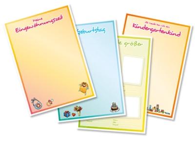 Kindergarten Portfoliovorlagende Kindergärten Kinderhorte