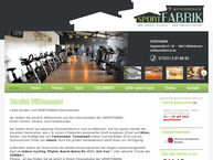 Website von Sportfabrik Mittelbiberach