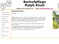 Website von Barhufpflege Ralph Klust
