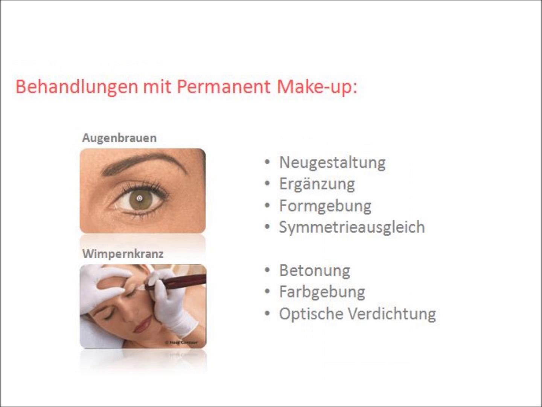 Permanent Make-up einfach erklärt