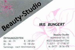 Iris Bungert Beauty-Studio seit 28 Jahren staatlich geprüfte Kosmetikerin