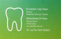 Zahnarztpraxis Dr. F. Thaher