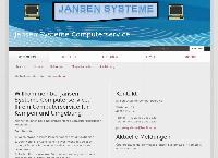 Website von Jansen Systeme Computerservice
