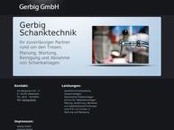 Website von Gerbig GmbH