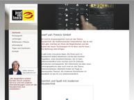 Website von Josef van Treeck GmbH