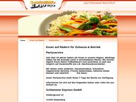 Website von Schlemmer-Express GmbH