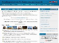 Website von Schulungszentrum für Bauwesen und Logistik