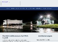 Website von PGG GmbH