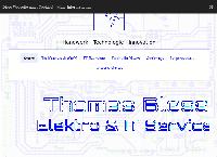 Website von Thomas Bless - Elektro & IT Service