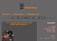 Website von Stickstelle Stickerei-Leipzig