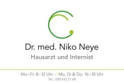 Dr. med. Niko Neye | Hausarzt und Internist | Allgemeinmedizin
