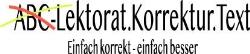 ABC-Lektorat.Korrektur.Text K. Schwaben-Beicht
