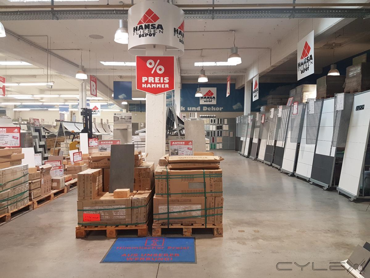 Hansa Fliesen Depot Fliesenlegearbeiten
