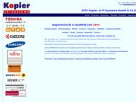 Website von Kopier Saalfeld GmbH