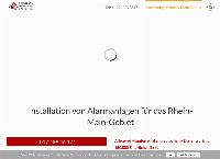 Website von Alarmanlagen-Sicherheitstechnik