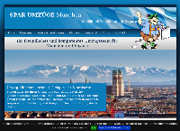 Website von Umzug München mit dem Umzugsunternehmen