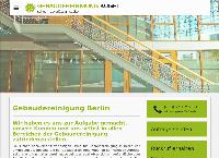 Website von Gebäudereinigung