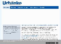 Website von Urbanke