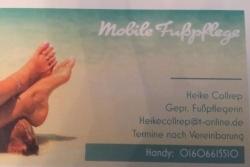 Mobile Fußpflege Heike