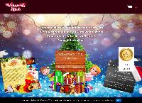 Website von Weihnachtsstaub