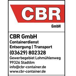 """CBR"" Containerdienst Baustoffrecycling GmbH"