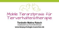 Tierarztpraxis für Tierverhaltenstherapie Matina Raisch
