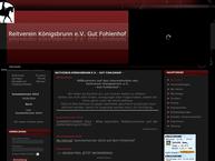Website von Reitverein Königsbrunn e.V. Gut Fohlenhof