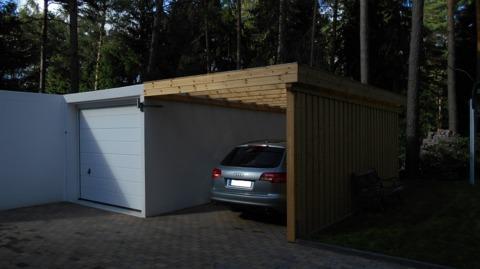 betongarage kombi betongarageholz carport beton garage