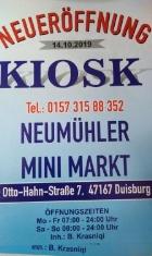 Kiosk Mini Markt Krasniqi