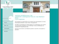 Website von Dr.med. Matthias F. Klima