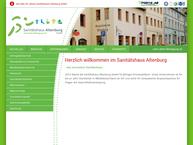 """Website von Sanitätshaus"""" Altenburg GmbH"""
