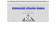 Website von Reinhard Krahn GmbH