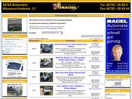 Website von Autohaus Nagel