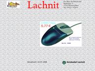 Website von Bürobedarf Uwe Lachnit