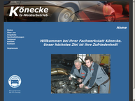 Website von Könecke Uwe Kfz-Repar.